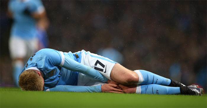 Kevin de Bruyne: Out longer than expected
