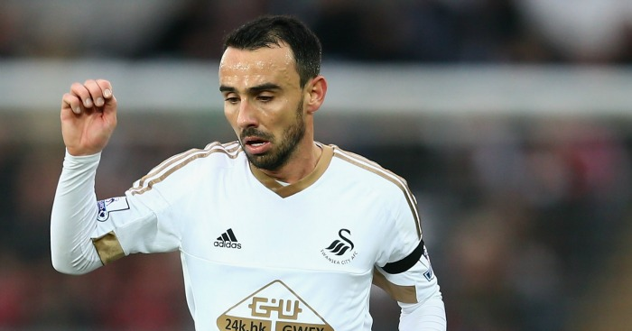 Leon Britton: Set for 500th appearance for Swansea