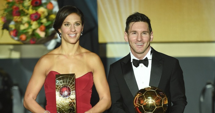 Lionel Messi: Wins a record fifth Ballon d'Or