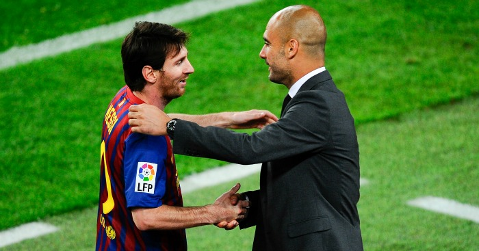 Pep Guardiola: Has huge admiration for Lionel Messi