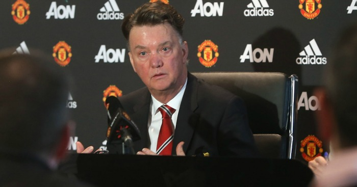 Louis van Gaal: Insists top-four remains top priority