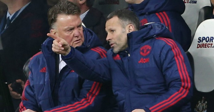 Louis van Gaal Ryan Giggs Manchester United TEAMtalk