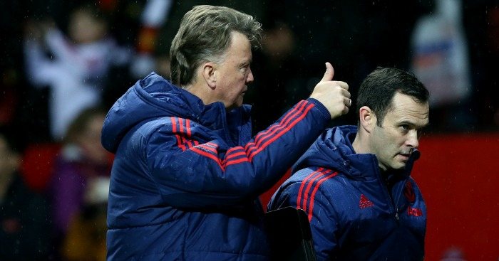 Louis van Gaal: Believes pressure is easing off Manchester United