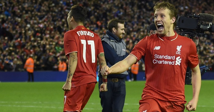 Lucas Leiva: Wants Liverpool fans to pray to help him to Wembley