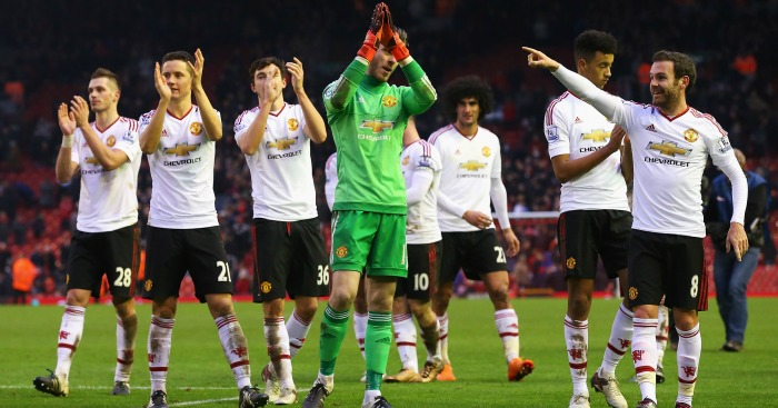 Manchester United: Celebrate their win at Anfield