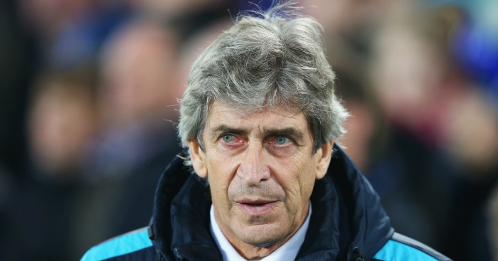 Manuel Pellegrini: Manager unhappy at Everton opener