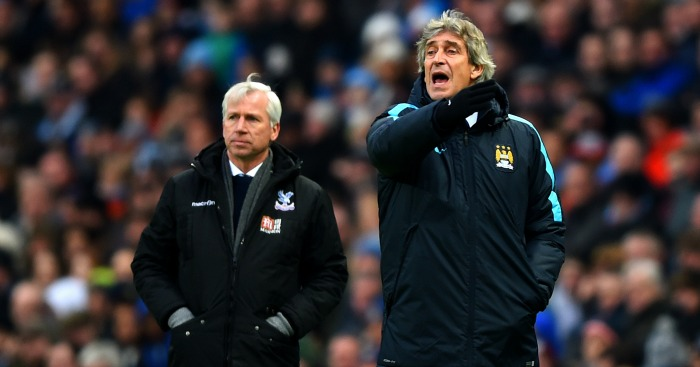 Manuel Pellegrini: Delighted with Manchester City win over Crystal Palace