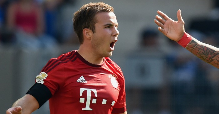 Mario Gotze: May yet make mersey switch