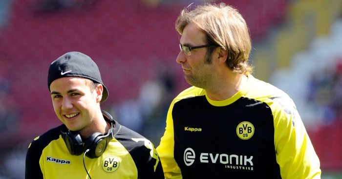 Mario Gotze: Enjoyed working with Jurgen Klopp