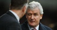 Mark Hughes: Admitted his side were lucky