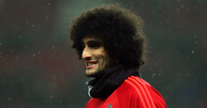 Marouane Fellaini: Has emerged as a key player under Mourinho