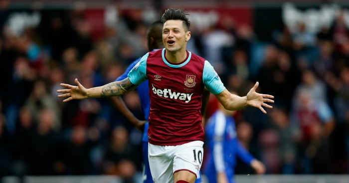 Mauro Zarate: Forward has scored five times for West Ham this term