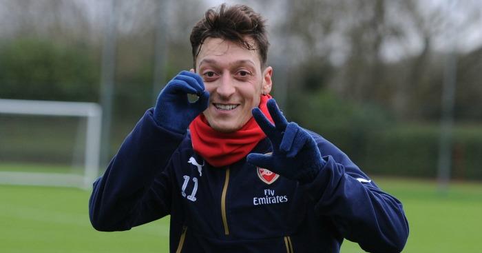 Mesut Ozil: hailed by Ter Stegen