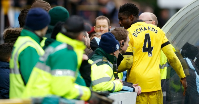 Micah Richards: Gets his point across to Villa fans