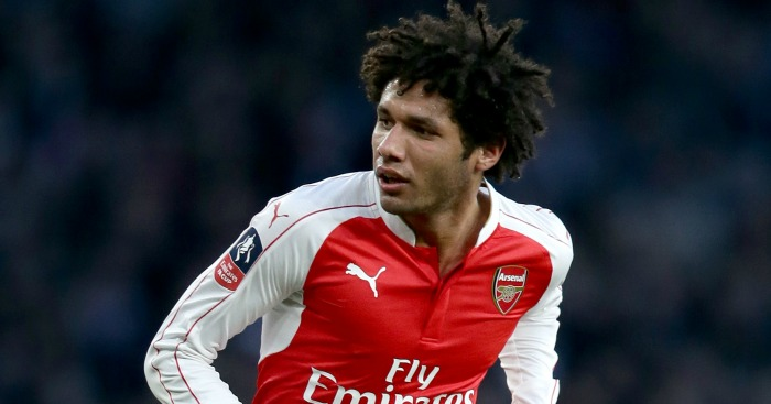 Mohamed Elneny: Caught the eye on full Arsenal debut