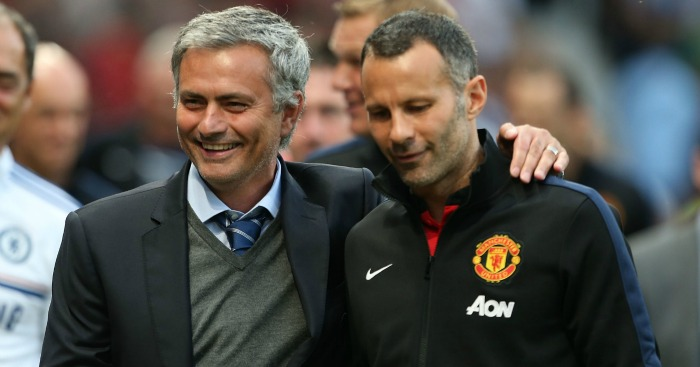 Jose Mourinho: 'United players would prefer Giggs'