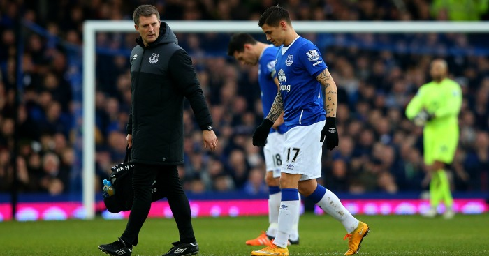 Muhamed Besic injury