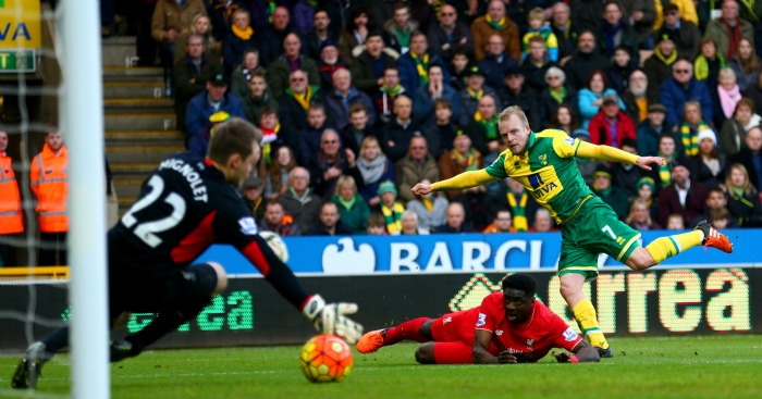 Steven Naismith: Scores Norwich's second goal