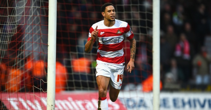 Nathan Tyson: Equalises for Doncaster