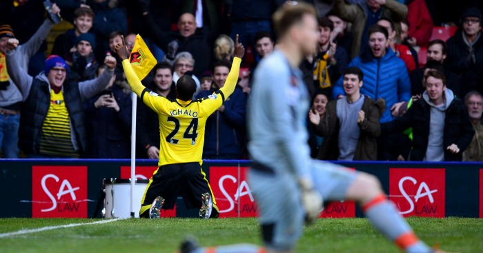Odion Ighalo: Opened the scoring for Watford