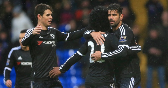 Chelsea: Celebrate Willian's second goal at Crystal Palace