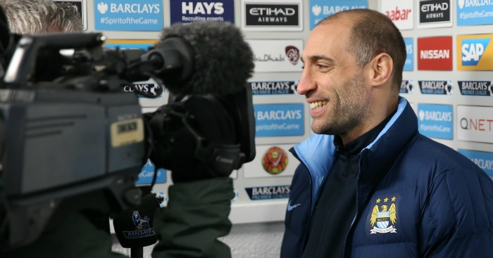 Pablo Zabaleta: Will not leave Manchester City in January