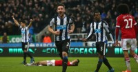 Paul Dummett: Left-back celebrates dramatic equaliser