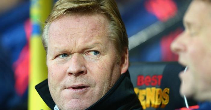 Ronald Koeman: Manager angry at Southampton duo
