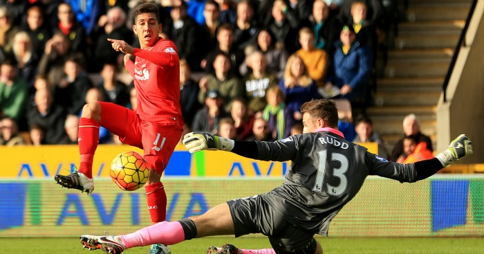 Roberto Firmino: Scores Liverpool's opener at Norwich