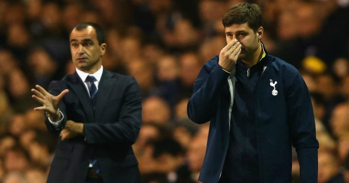 Roberto Martinez: Has been impressed by Spurs this season