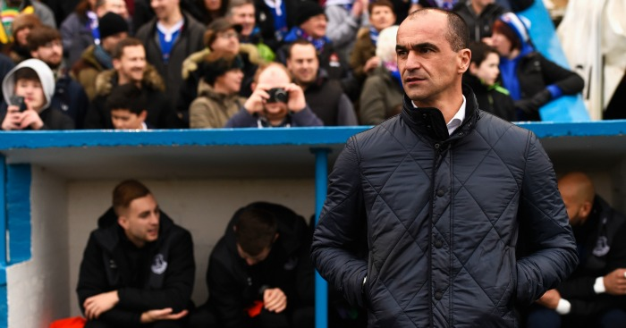 Roberto Martinez: Happy to see incident dealt with