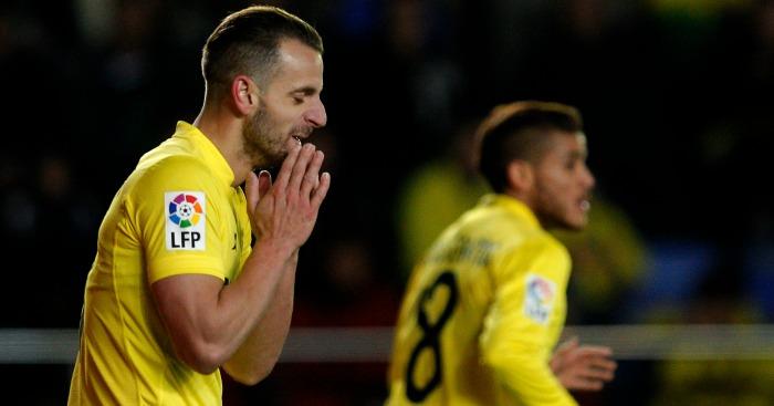 Roberto Soldado: Shows his frustration for Villarreal