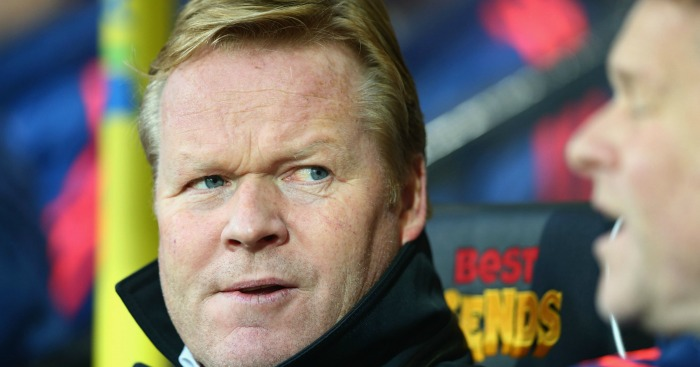 Ronald Koeman: Manager unwilling to be bullied into selling