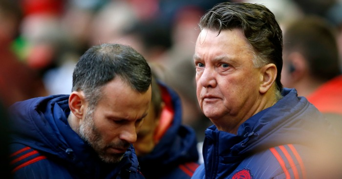 Louis van Gaal: Reflects on display at Anfield