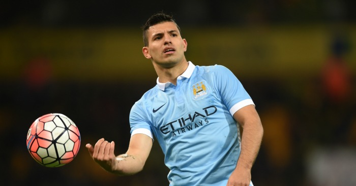 Sergio Aguero: In sparkling form at Carrow Road