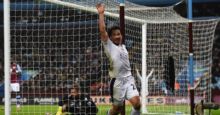 Shinji Okazaki: Not worried by Jamie Vardy's goal drought