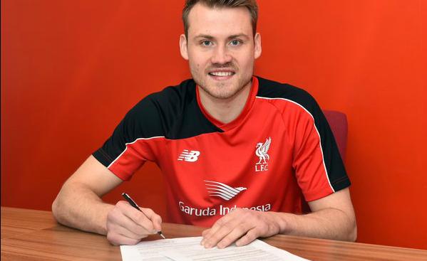 Simon Mignolet: Picture courtesy of Liverpool FC