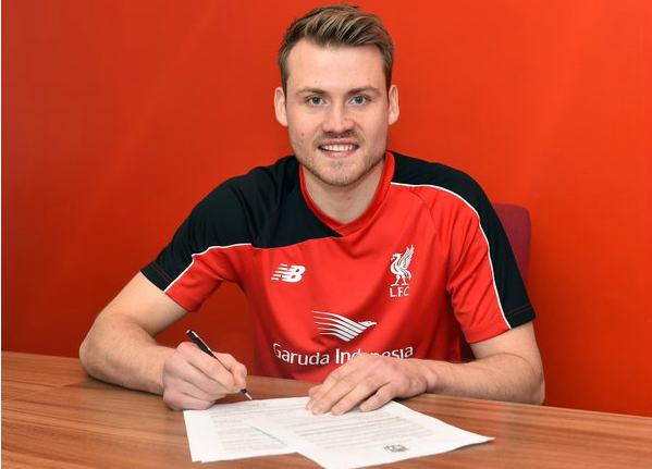 Simon Mignolet: Picture courtesy of Liverpool FC