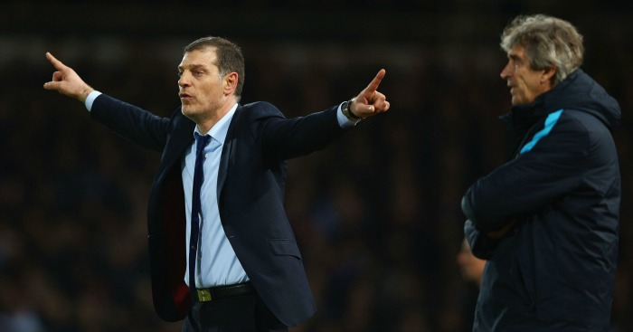 Slaven Bilic: Disappointed West Ham did not beat Manchester City