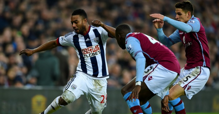 Stephane Sessegnon: Takes on the Villa defence