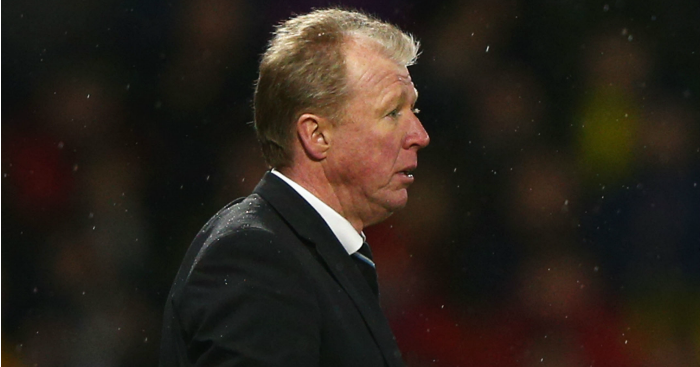Steve McClaren: Slammed his side