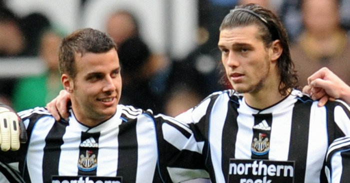 Steven Taylor & Andy Carroll: Former Newcastle team-mates