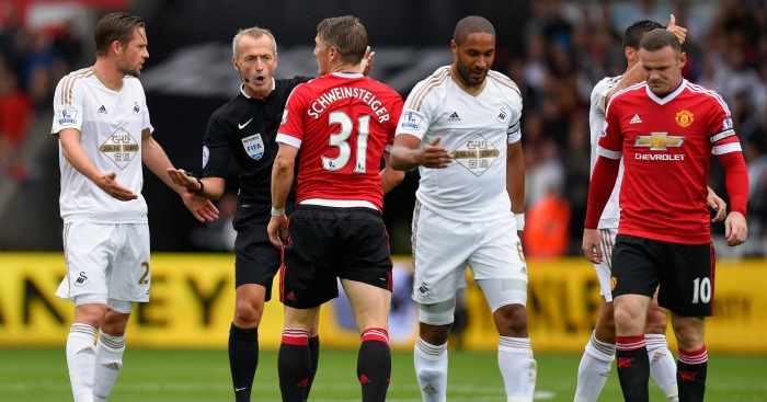 Swansea: Hope to be a thorn in Manchester United's side again