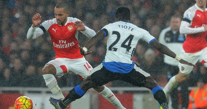 Theo Walcott: Forward impressed with Arsenal victory