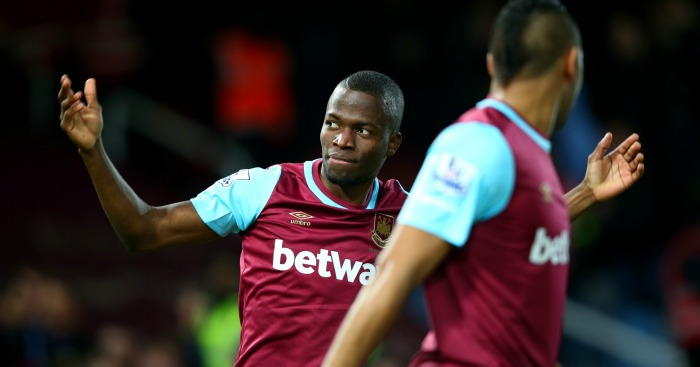 Enner Valencia: Scored twice