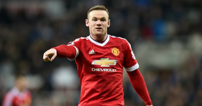 Wayne Rooney: Joined Manchester United injury list