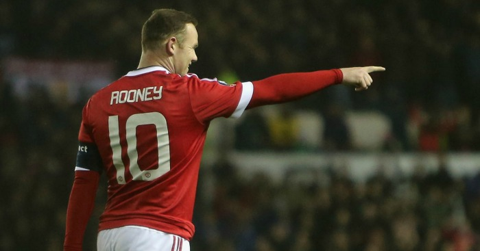 Wayne Rooney: Happy with recent form for Manchester United