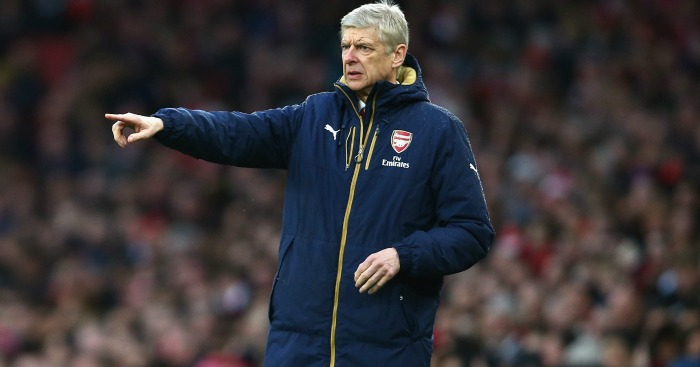 Arsene Wenger: Happy with his squad