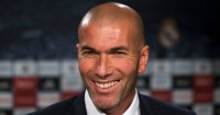 Zinedine Zidane: At Tuesday's press conference at Valdebebas