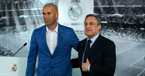 Zinedine Zidane: Faced the media on Tuesday